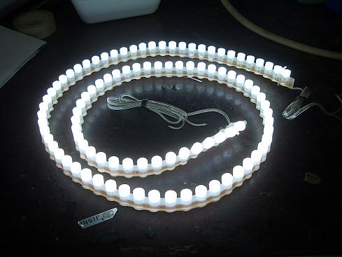 Диодная лампа своими руками фото