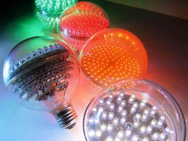 Преимущества светодиодных лампочек