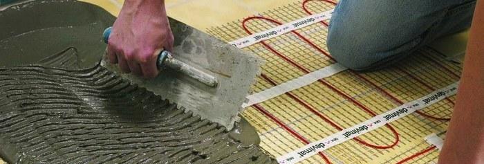 Электрический теплый пол: способы установки и преимущества
