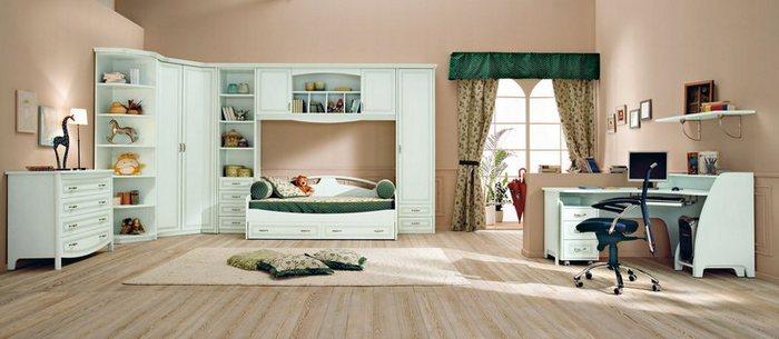 Интерьер и оформление детской комнаты