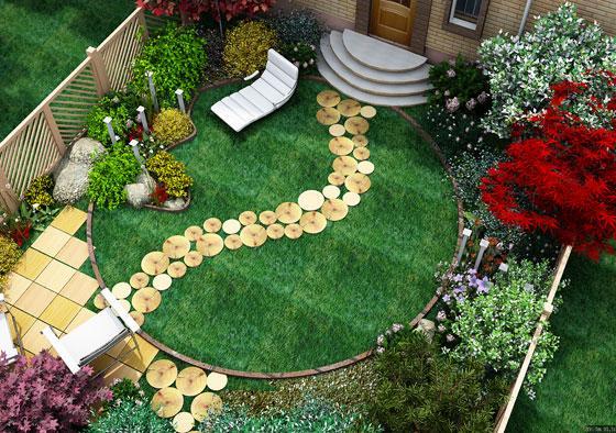 Ландшафтный дизайн участка: полезные рекомендации