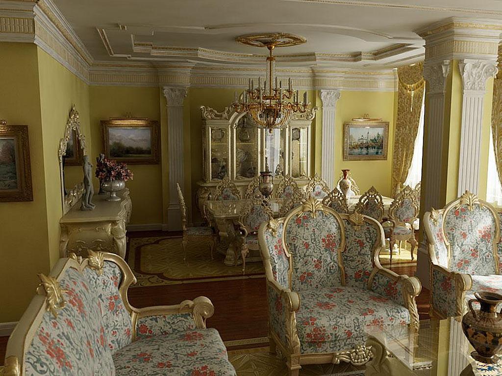 Дизайн барокко фото