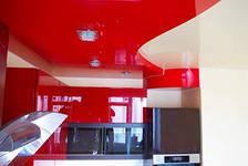 Бесшовный потолок - один или два уровня