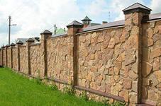 Забор ракушняк