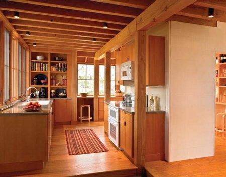 Интерьер для деревянного загородного дома