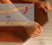 Укладка ламината с «Click»-замками