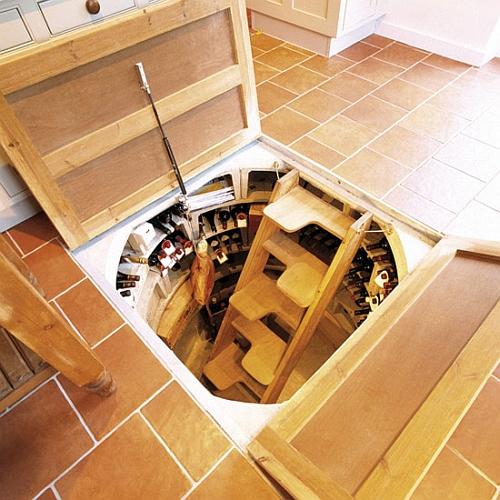 Как сделать чтобы подвал был внизу