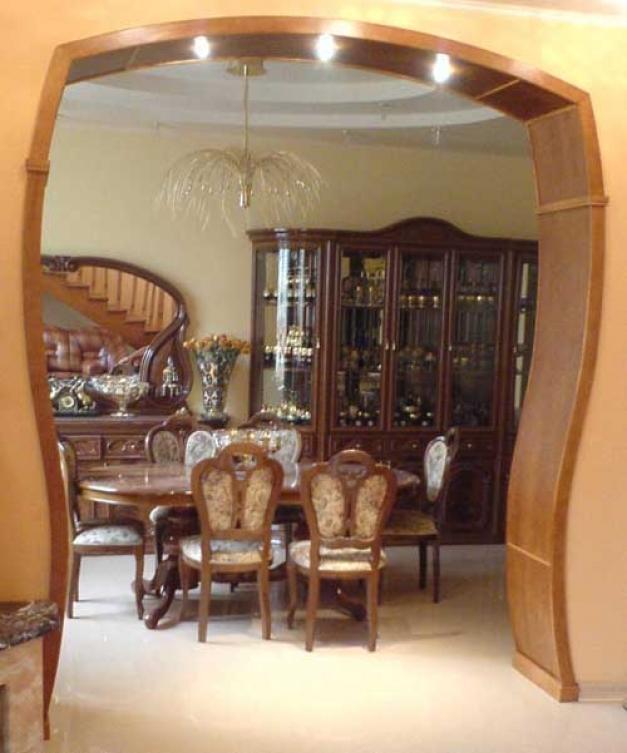 арки деревянные межкомнатные
