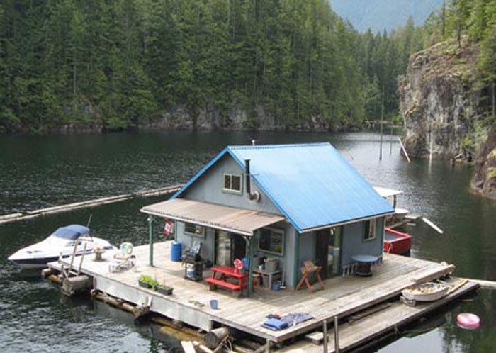 плавучий дом купить
