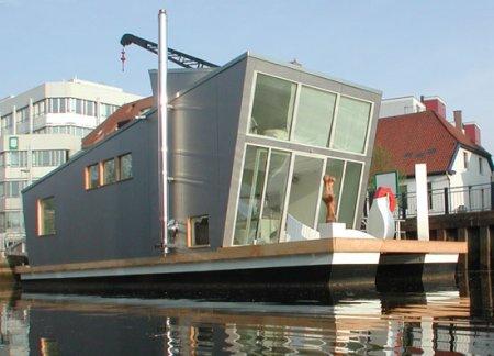 Строительство зданий на воде