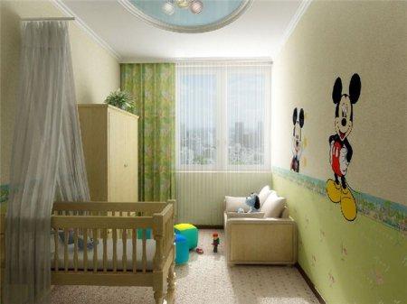 Организация пространства в маленькой детской комнате