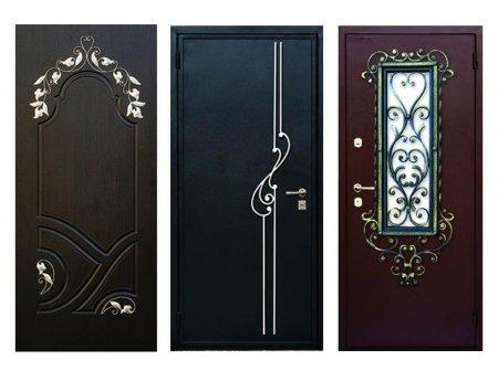 Способы отделки стальных дверей