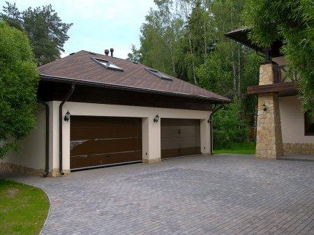 Размещение гаража на участке
