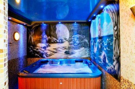 Гидромассажные бассейны в собственном коттедже