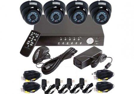 Установка системы видеонаблюдения в квартире