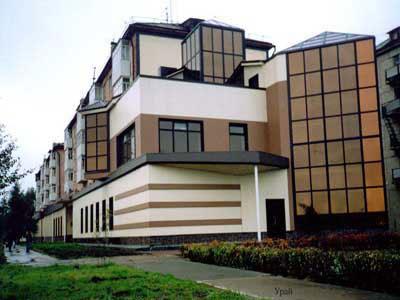 Достоинства навесных фасадных систем