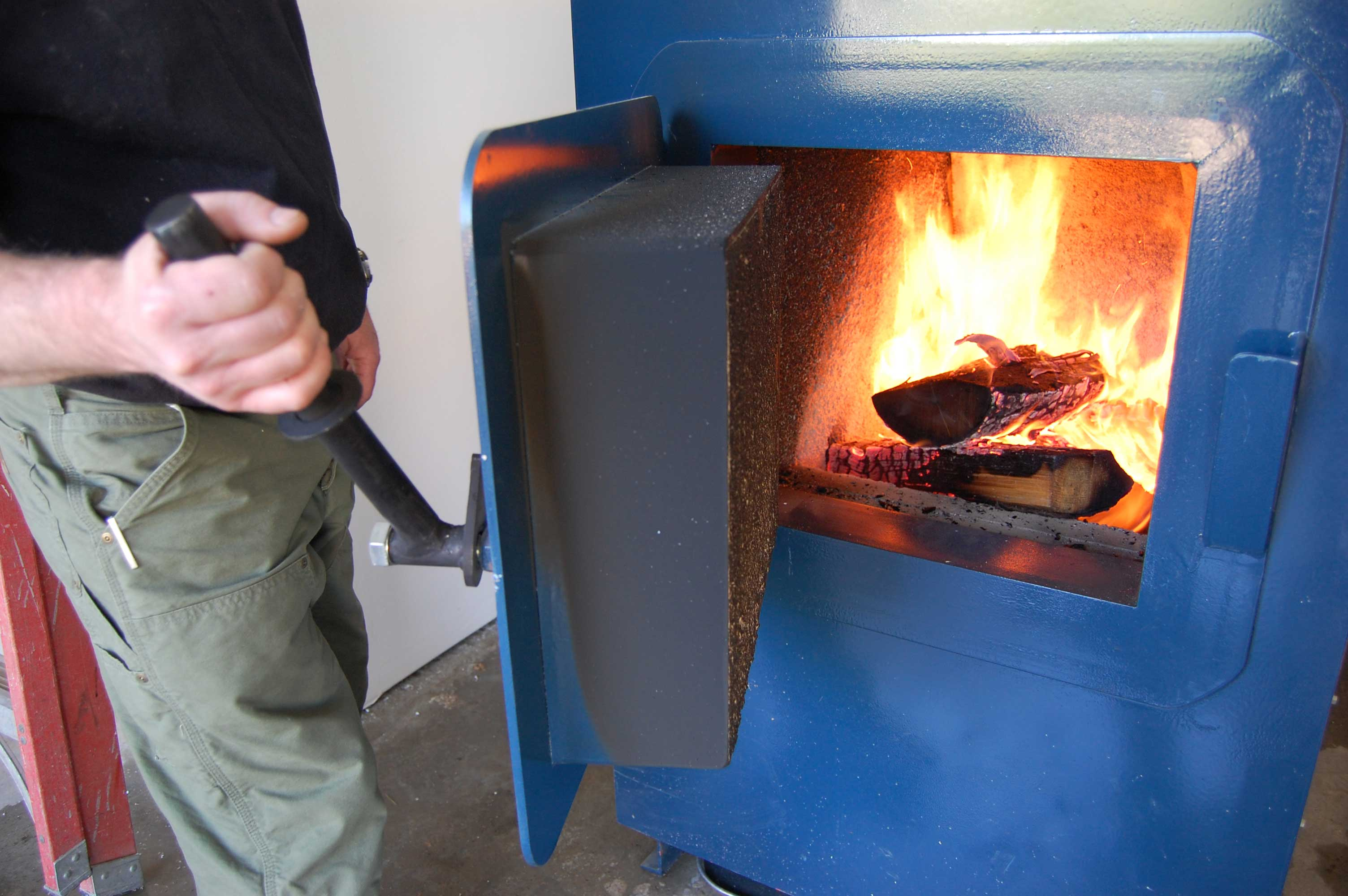 Пиролизный котел под водяное отопление