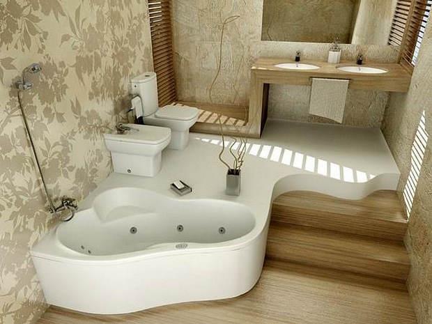 Как сделать в частном доме ванную?