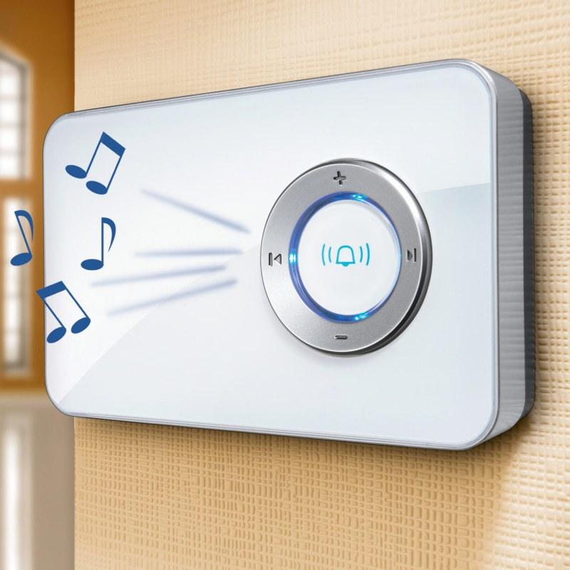 Как открыть крышку электрического дверного звонка?