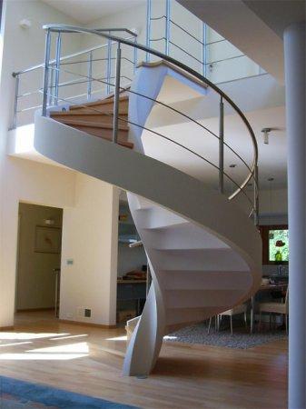 Бетонная лестница для частного дома своими руками