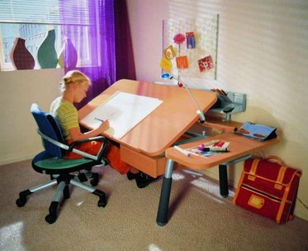 Столы для школьных занятий первоклассников | Эрготроника