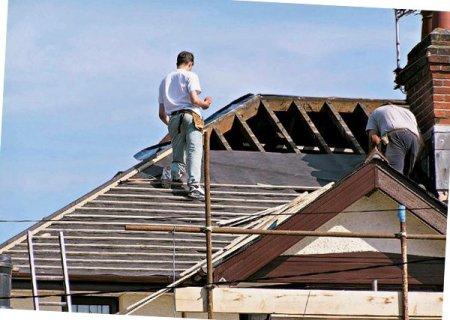 Ремонт крыши из оцинкованной стали
