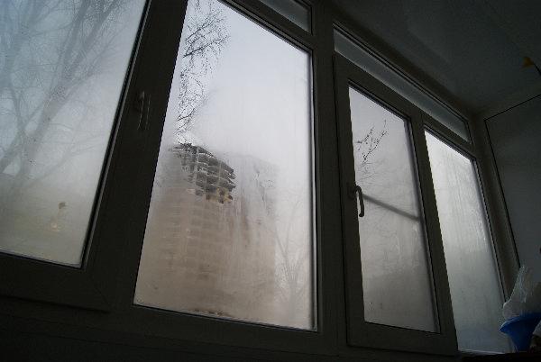 Запотевание окон на балконе