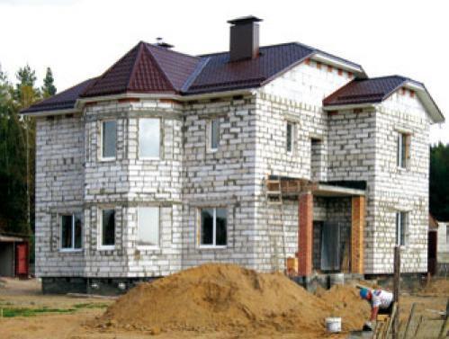 Газосиликатные блоки сложные формы строительства
