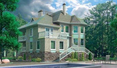 Как сделать фасад дома красивым
