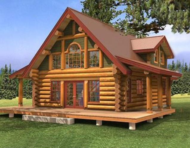 Строим дома из дерева