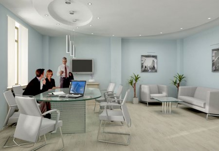 Принципы оформления дизайна офиса