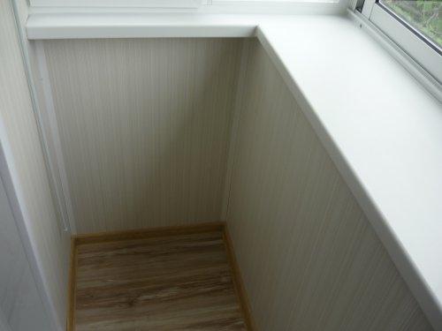 Обшивка балкона пластиковыми панелями - пошаговая инструкция.