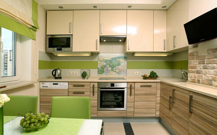 Дизайн кухни 9 квМ фото