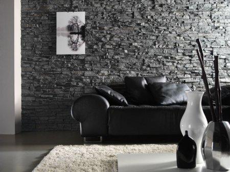 Искусственный декоративный камень в интерьере: достоинства и недостатки, ин ...