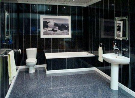 Отделка стен в ванной. Что лучше: керамическая плитка или пластиковые панели