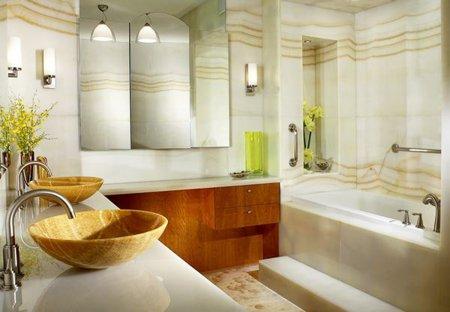 Мраморные изделия в интерьере домов и квартир