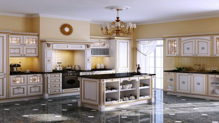 Островная планировка кухни: преимущества, основные решения и особенности оформления
