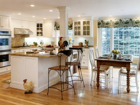 Островная планировка кухни: преимущества, основные решения и особенности оф ...