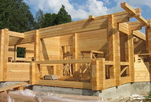 Почему для строительства дачных домов выбирают брус?
