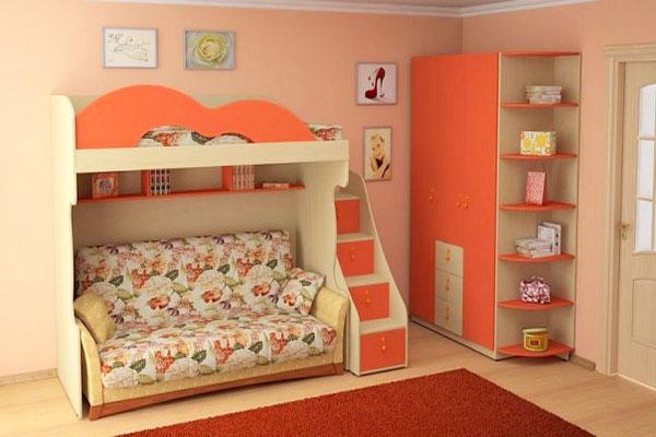 Что больше подходит для детской: диван или кровать?