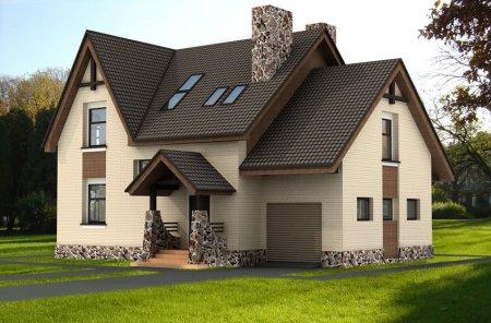 Дом мечты от проекта до последней детали