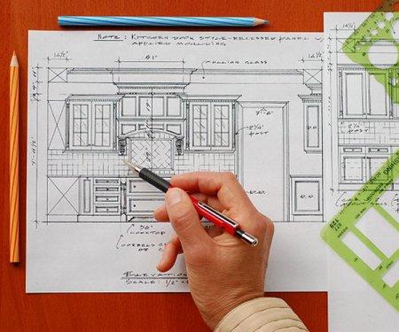 Создание дизайна интерьера