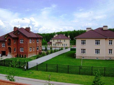 Покупка земли в коттеджном поселке бизнес класса