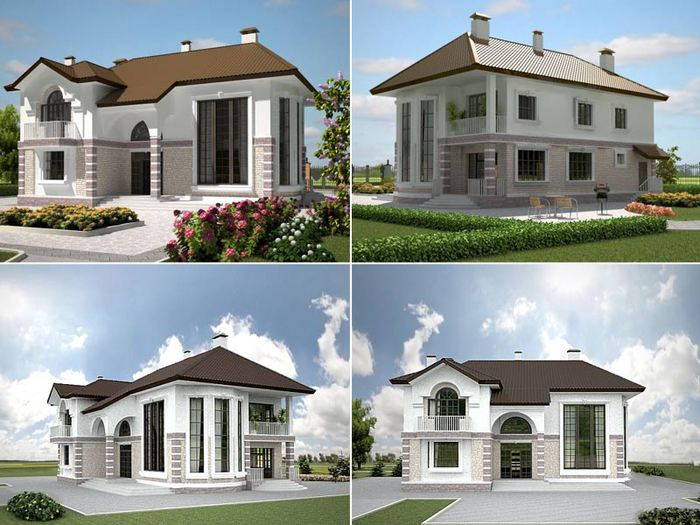 Переваги готових проектів будинків