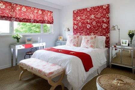 Как правильно использовать красный цвет в дизайне интерьера?