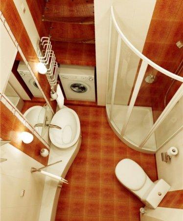 Как выбрать мебель в маленькую ванную комнату?