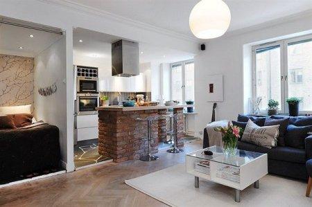 Дизайн квартир-студий – особенности зонирования и оформления интерьера
