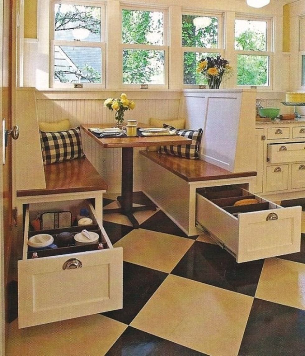 Уголок кухонный для маленькой кухни своими руками