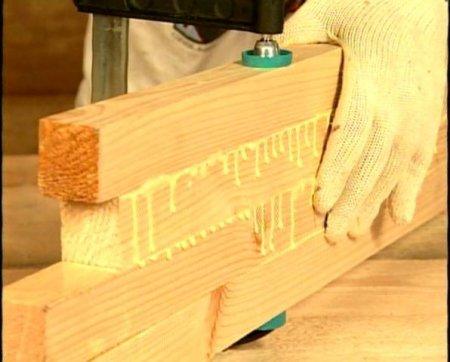 Обработка древесины: склеивание и сборка