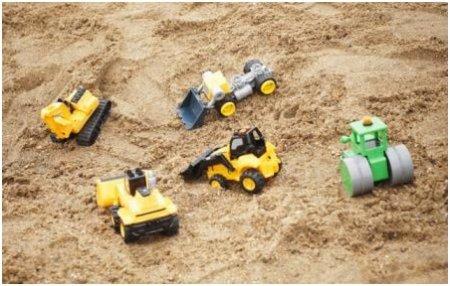 Песок для детских песочниц: оценка качества и определение показателей